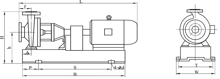 用 途: 本产品广泛适用于:化工、制酸、制碱、冶炼、稀土、农药、染料、医药、造纸、电镀、酸洗、无线电、化成箔等行业。 设计特点: IHF型离心泵按国际标准设计,泵体采用金属外壳内衬氟塑料,叶轮及泵盖均用金属嵌件外包氟塑料合金压制成型,轴封采用外装式先进的波纹管机械密封,静环选用99.